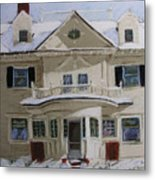 Quincy Street Metal Print by Mary Capriole