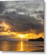 Rabbit Island Sunrise - Oahu Hawaii Metal Print by Brian Harig