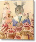 Rabbit Marcus The Great 01 Metal Print