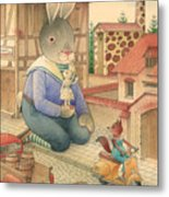 Rabbit Marcus The Great 03 Metal Print