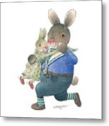 Rabbit Marcus The Great 28 Metal Print