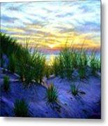 Race Point Dune Sunset Metal Print