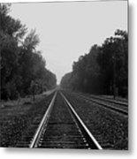 Railroad To Nowhere Metal Print