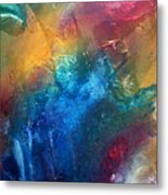 Rainbow Dreams II By Madart Metal Print