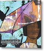 Raindrops... And Sunshine Metal Print by Angela L Walker