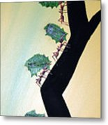 Rainforest Information Superhighway Metal Print