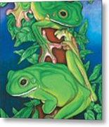 Rainforest Rendezvous Metal Print