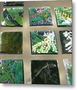 Rainforest Tile Prints Metal Print