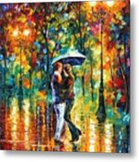 Rainy Dance Metal Print