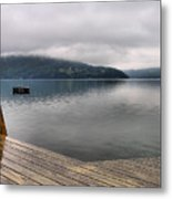 Rainy Day Keuka Metal Print