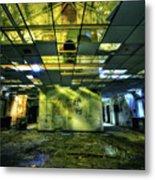 Raise The Roof Metal Print by Evelina Kremsdorf