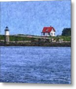 Ram Island Lighthouse Metal Print