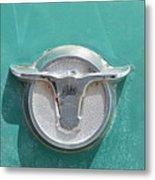 Ranchero Emblem Metal Print