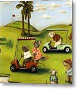 Rat Race 2  At The Golf Course Metal Print
