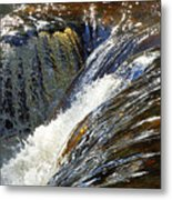 Ravenskill Falls Metal Print