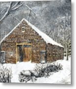 Ray Emerson's Old Barn Metal Print by Jack Skinner