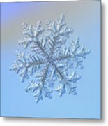 Real Snowflake - Hyperion Metal Print