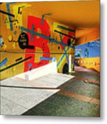 Recoleta Tunnel Metal Print