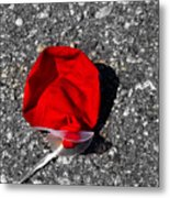 Red Balloon II Metal Print