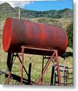 Red Barrel Metal Print