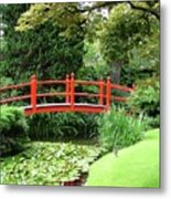 Red Bridge No 2 Metal Print