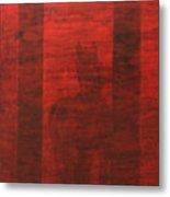 Red Horse Metal Print