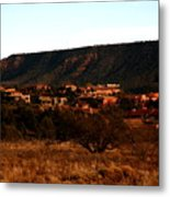 Red Rock Village Metal Print