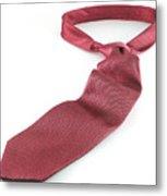 Red Tie Metal Print