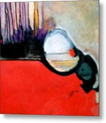 Red Twin Leaps And Bounds Metal Print