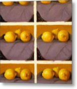 Redundant Lemons Metal Print