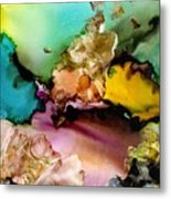 Reef 3 Metal Print
