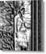 Reflected Signal Metal Print