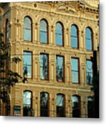 Reflecting On Portland Metal Print
