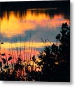 Reflection On The Lake Metal Print
