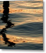Reflections Abstract Metal Print