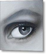 Reflections Eye Metal Print