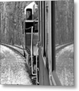 Reflections In Riding Metal Print