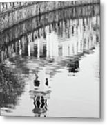 Reflections Of Church 2 Metal Print
