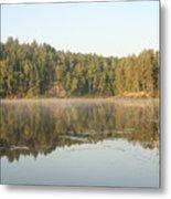 Reflections On Lake Four Metal Print