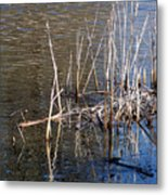 Reflections On The Yellow River Metal Print