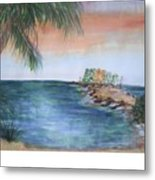 Resort The Keys Metal Print