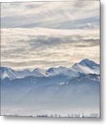 Retezat Mountains Metal Print