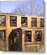 Retired And Left Alone Metal Print