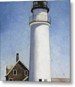 Rhode Island Lighthouse Metal Print