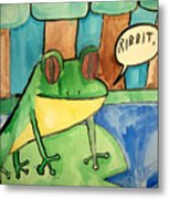 Ribbit Metal Print