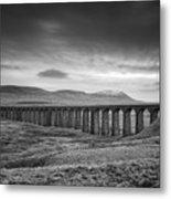 Ribblehead Viaduct Uk Metal Print