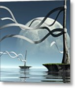 Ribbon Island Metal Print
