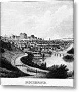 Richmond, Virginia, 1856 Metal Print