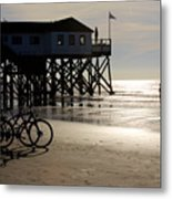 Ride Your Bike To The Beach Metal Print