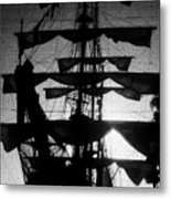 Rigging And Sail Metal Print